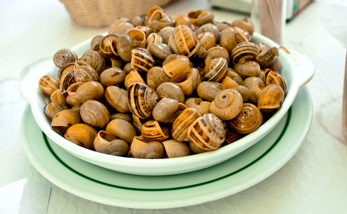 Escargots à la portugaise