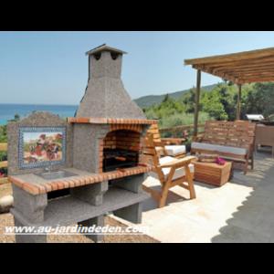 barbecue en pierre ludo 5 a au jardin d 39 eden. Black Bedroom Furniture Sets. Home Design Ideas