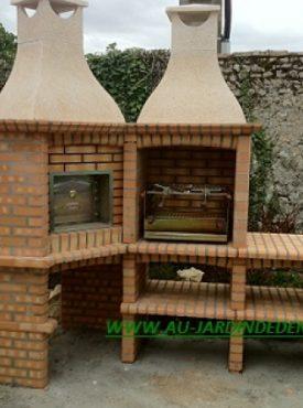 Barbecues en Brique Refractaire