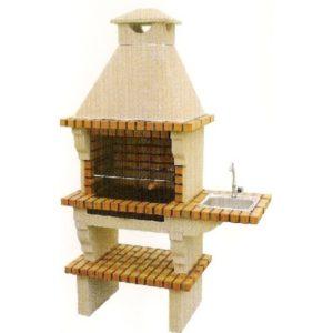 barbecue et four pain d angle avec plan de travail ff 1008a au jardin d 39 eden. Black Bedroom Furniture Sets. Home Design Ideas