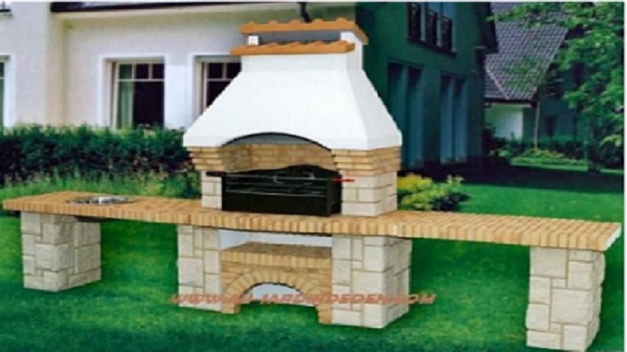 barbecues en briques et pierre ff 55a au jardin d 39 eden. Black Bedroom Furniture Sets. Home Design Ideas
