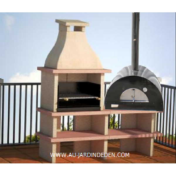 barbecue four maxi pizza ref 9 au jardin d 39 eden. Black Bedroom Furniture Sets. Home Design Ideas