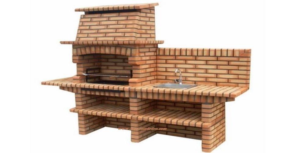 Barbecues en briques au jardin d 39 eden for Barbecue en brique refractaire neuf