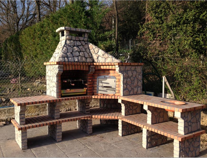 amazing barbecues duangle en pierre naturelle with barbecue en pierre naturelle. Black Bedroom Furniture Sets. Home Design Ideas