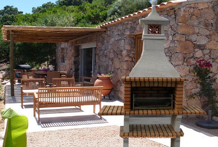 barbecue en brique refractaire ludo a au jardin d 39 eden. Black Bedroom Furniture Sets. Home Design Ideas