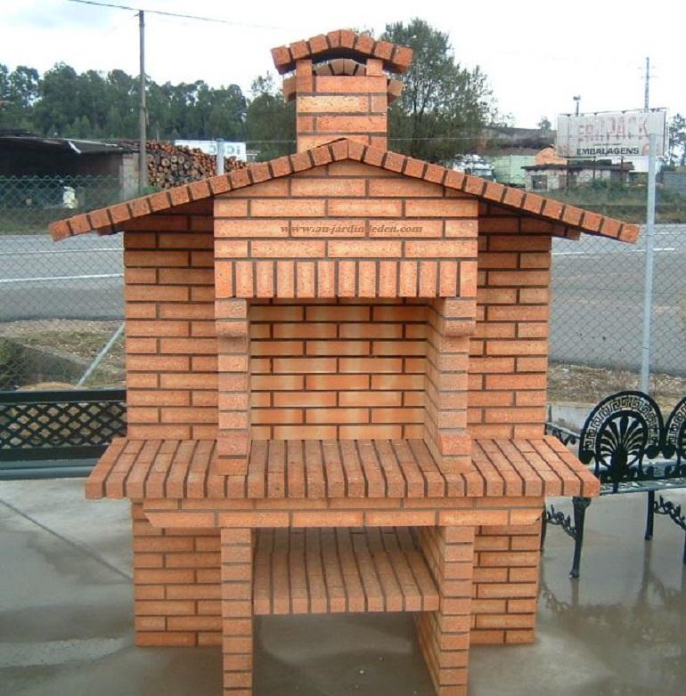 barbecue en brique refractaire ff 448a au jardin d 39 eden. Black Bedroom Furniture Sets. Home Design Ideas