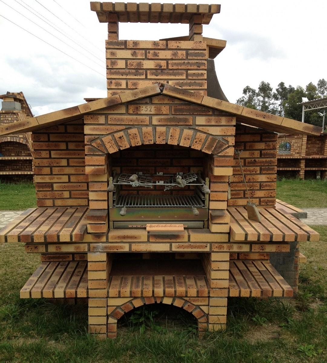 Barbecues en briques rustique l j680a au jardin d 39 eden for Barbecue en brique refractaire neuf