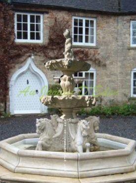 Fontaines en Pierre Reconstituee
