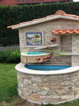 Fontaines En Pierre Naturelle