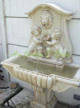 Fontaines Murale En Pierre Reconstituee