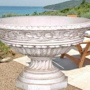 vase de jardin aux feuilles au jardin d 39 eden. Black Bedroom Furniture Sets. Home Design Ideas