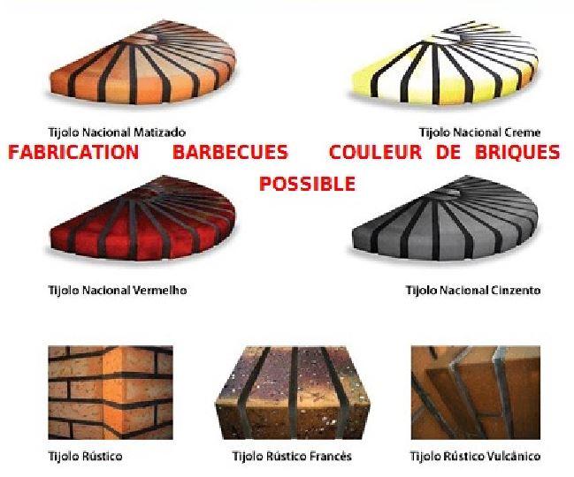 barbecue et four fixe exterieur en briques l j 1600 a au. Black Bedroom Furniture Sets. Home Design Ideas